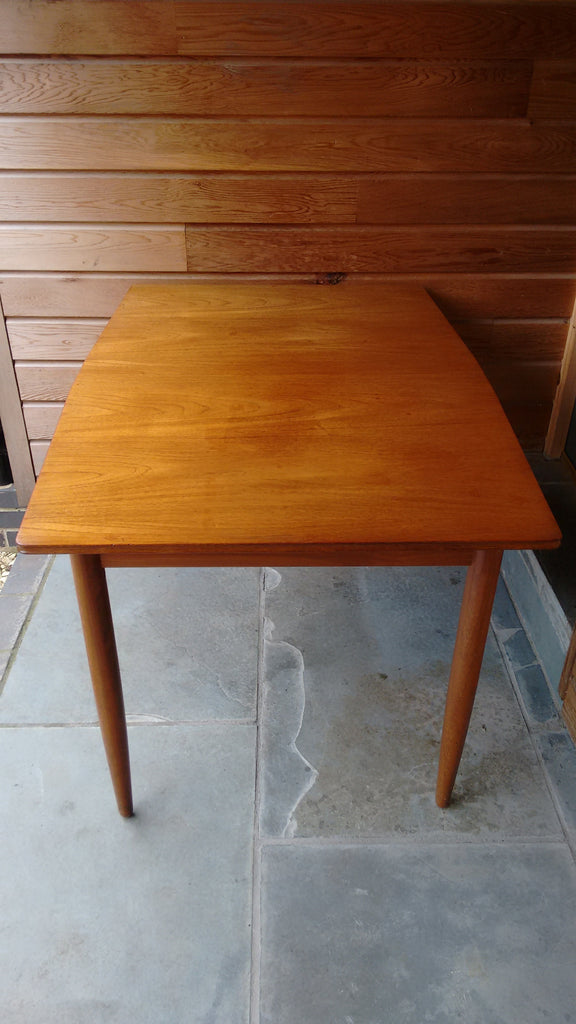 Beautiful Extending Dining Table In Teak