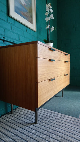 "Stag ""Fineline"" Chest Of Drawers By John & Sylvia Reid (2 of 2)"