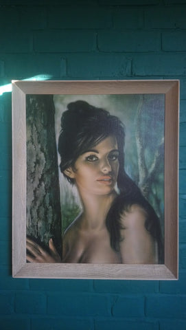 """Tina"" Print By J H Lynch Framed By Boots"
