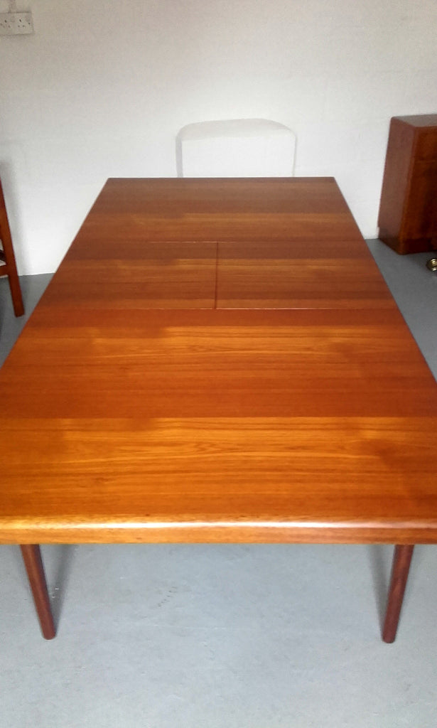 Beautiful Youngers Extending Dining Table In Teak