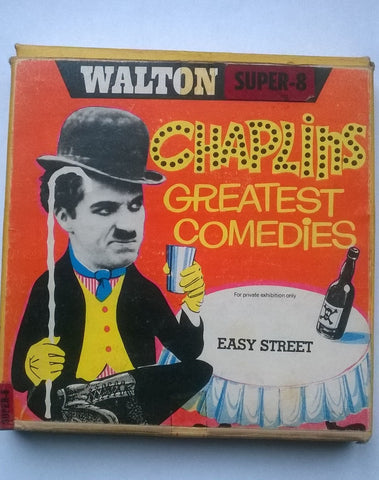 Charlie Chaplin's Greatest Comedies Easy Street on Super 8