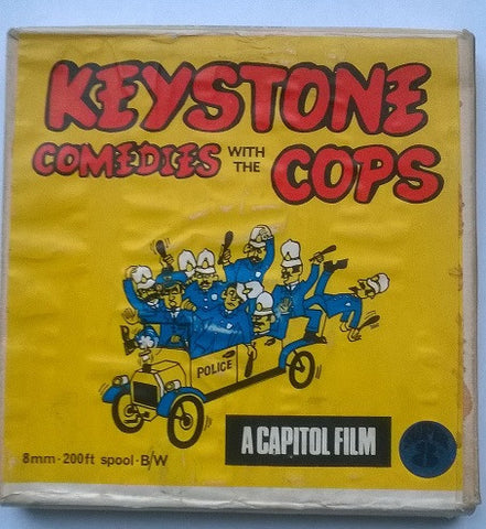 Keystone Comedies with the Cops original Super 8