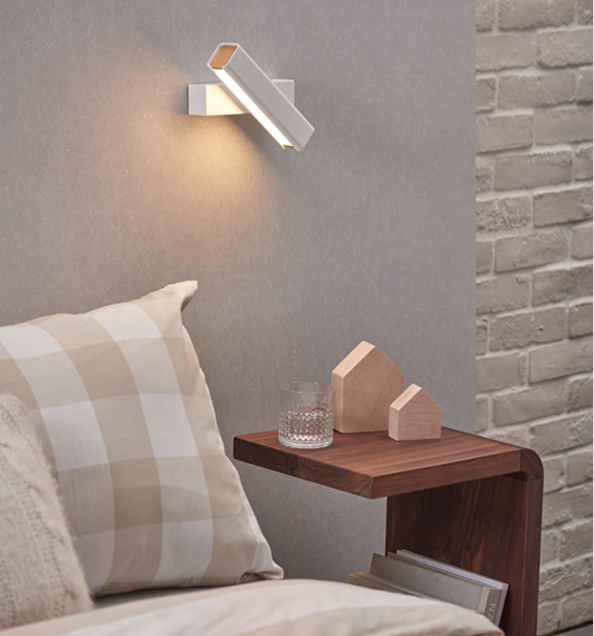 Mumu White wall light