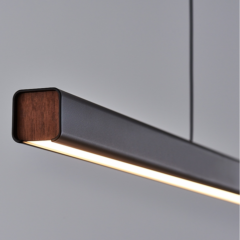 Mumu Black 1200 LED Pendant light