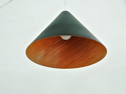 Basswood Black Pendant