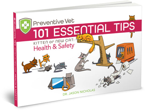 101 Essential Tips — Kitten or New Cat — Health and Safety