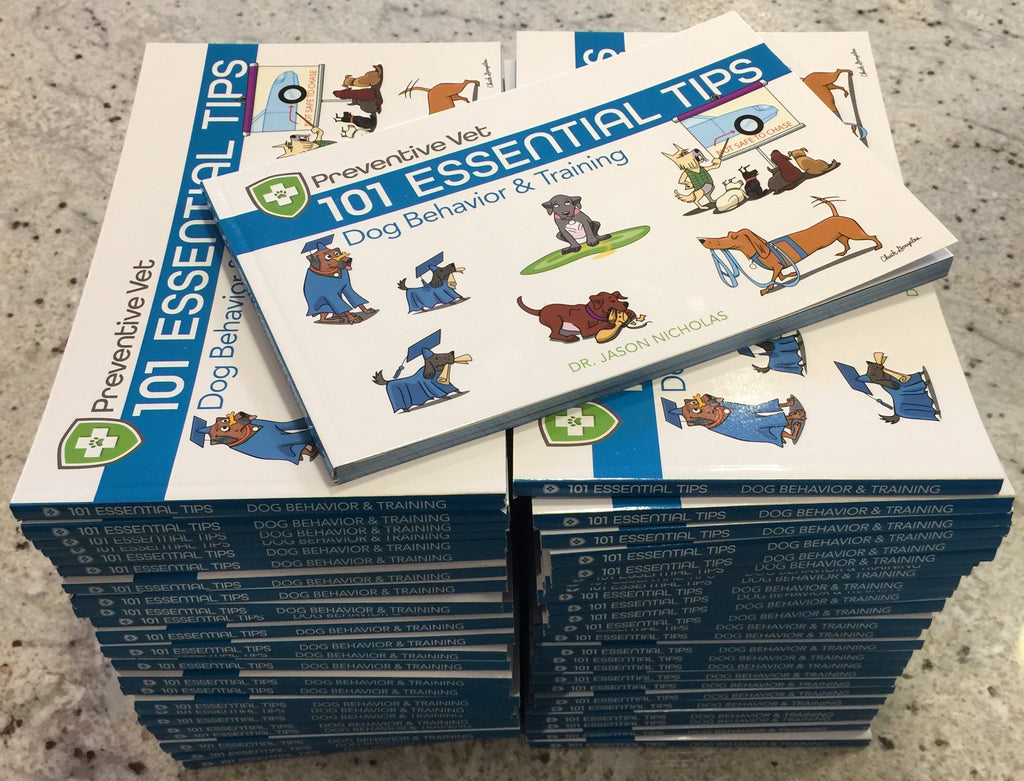 Box Dog Books (Behavior & Training Edition 1) - QTY 30, 50, or 100 pre-discounted for veterinarians
