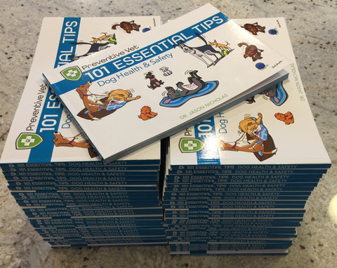 Box Dog Books (Health & Safety Edition 3) - QTY 30, 50, or 100 pre-discounted for veterinarians