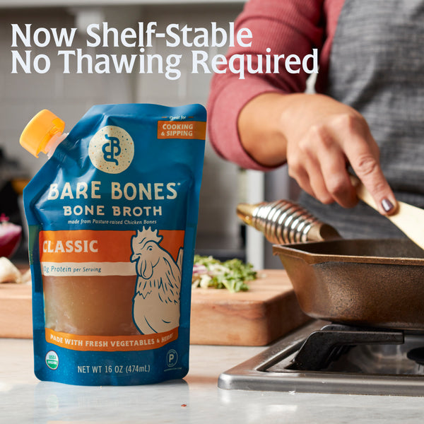 Bare Bones Broth - Shelf Stable - No Thawing Required