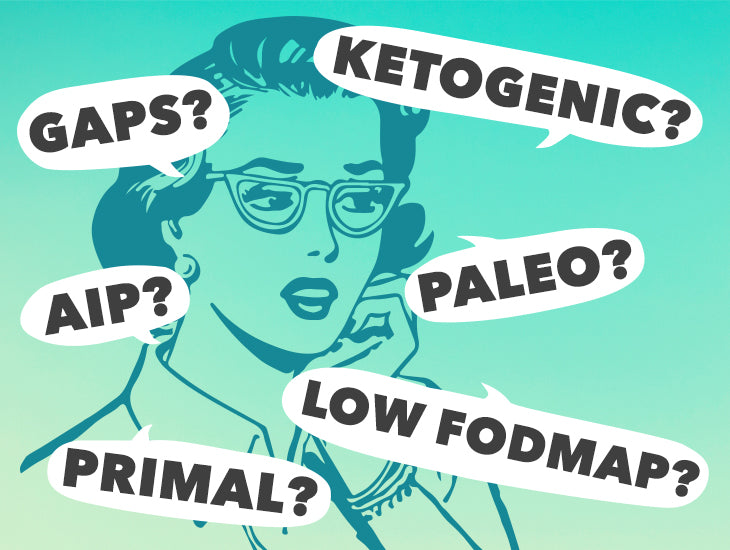 A healing diet: Explaining Paleo, Keto, FODMAP, AIP, and GAPS