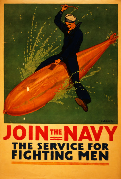 Join the Navy, World War I recruiting poster