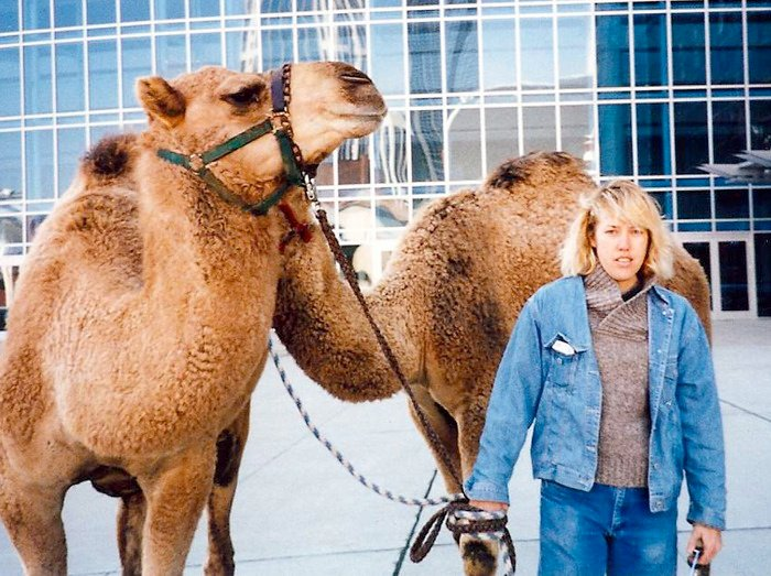 Lee Selman, camels, and Paleo Treats