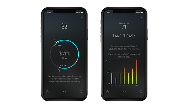 Oura Ring App tells you how you're sleeping this holiday season