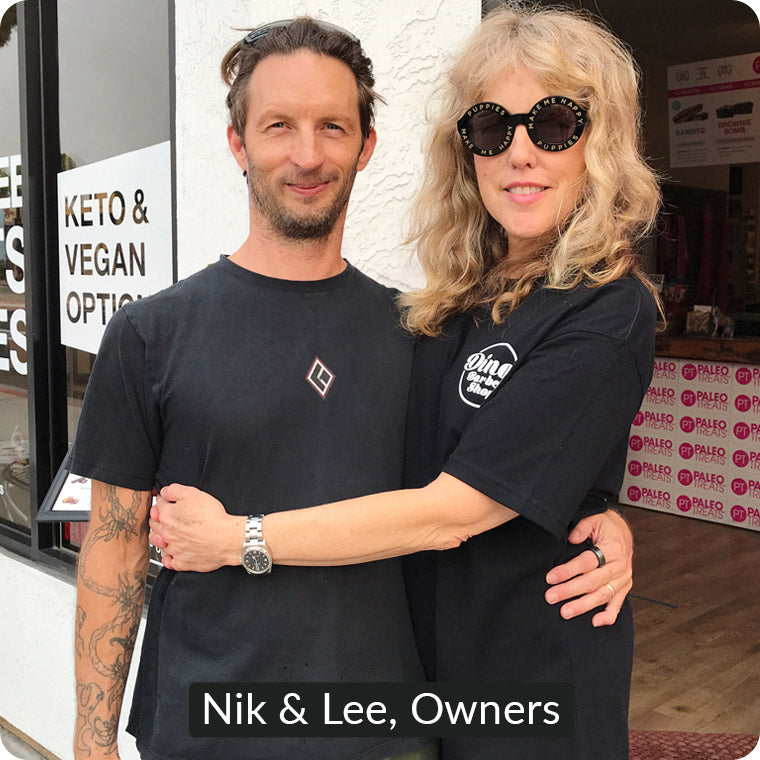 Nik & Lee, Paleo Treats Owners