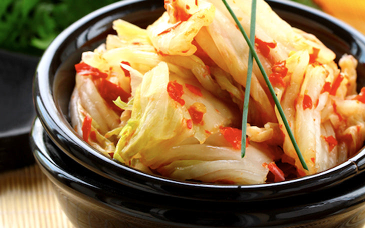 The most delicious fermented kimchee on the planet, yum!