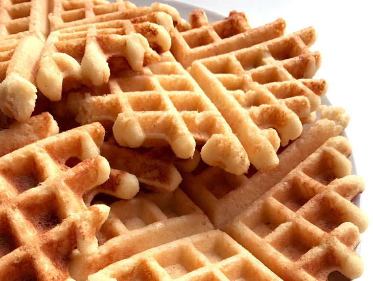 Paleo waffles with recipe