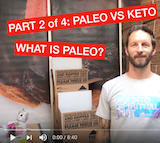 Part 2 of 4: Paleo vs Keto -- What is Paleo?