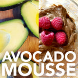 Paleo avocado mousse