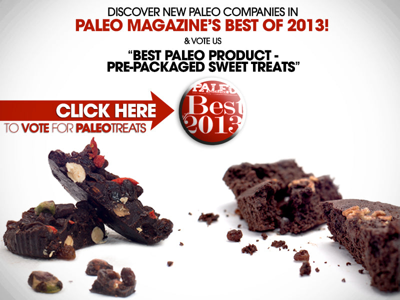 paleo magazine best of 2013 vote for Paleo Treats