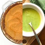Paleo pie recipe and soup