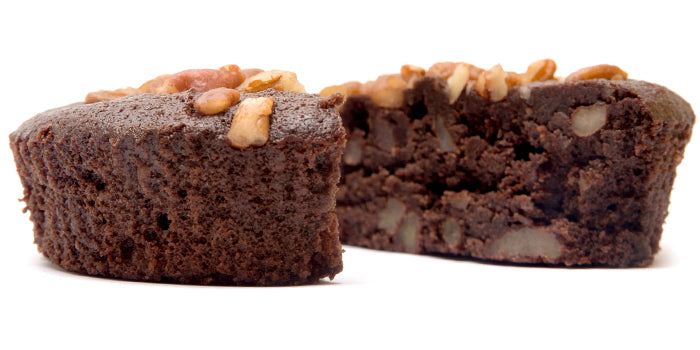 A gluten free brownie that's a healthy dessert.