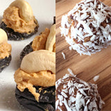 Paleo Halloween Treats, pumpkin truffles and prune sweeties