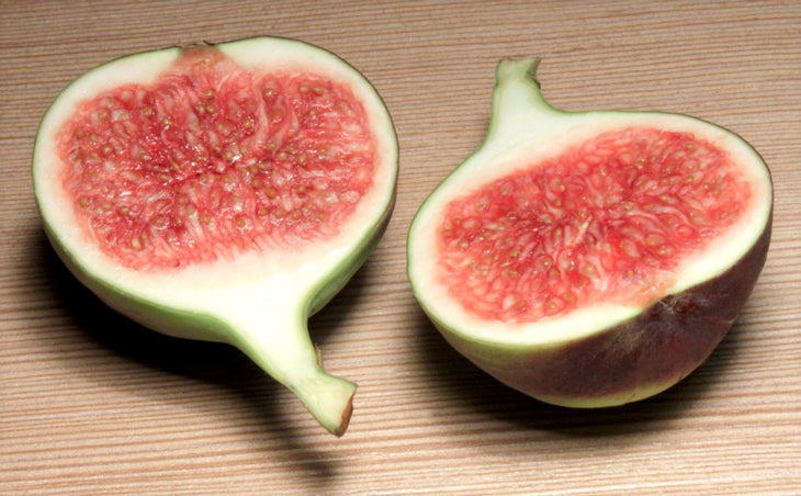 These calcium rich figs are super sweet, don't eat too many!