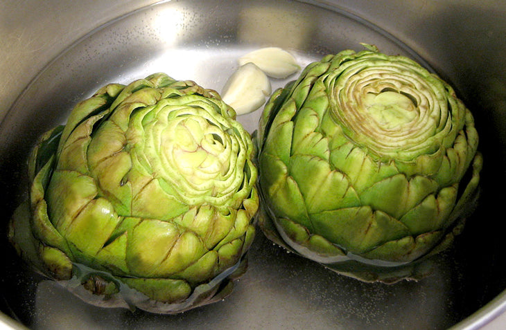 Kick it up a notch with artichokes, these are some of our favorite veggies especially to combat osteoporosis.