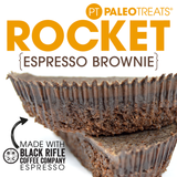 Paleo Treats Rocket, espresso brownie