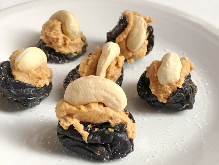 Glorious Halloween Treats, Stuffed Prune recipe
