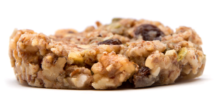 The Mustang Bar, a paleo granola bar that's a sweet snack.