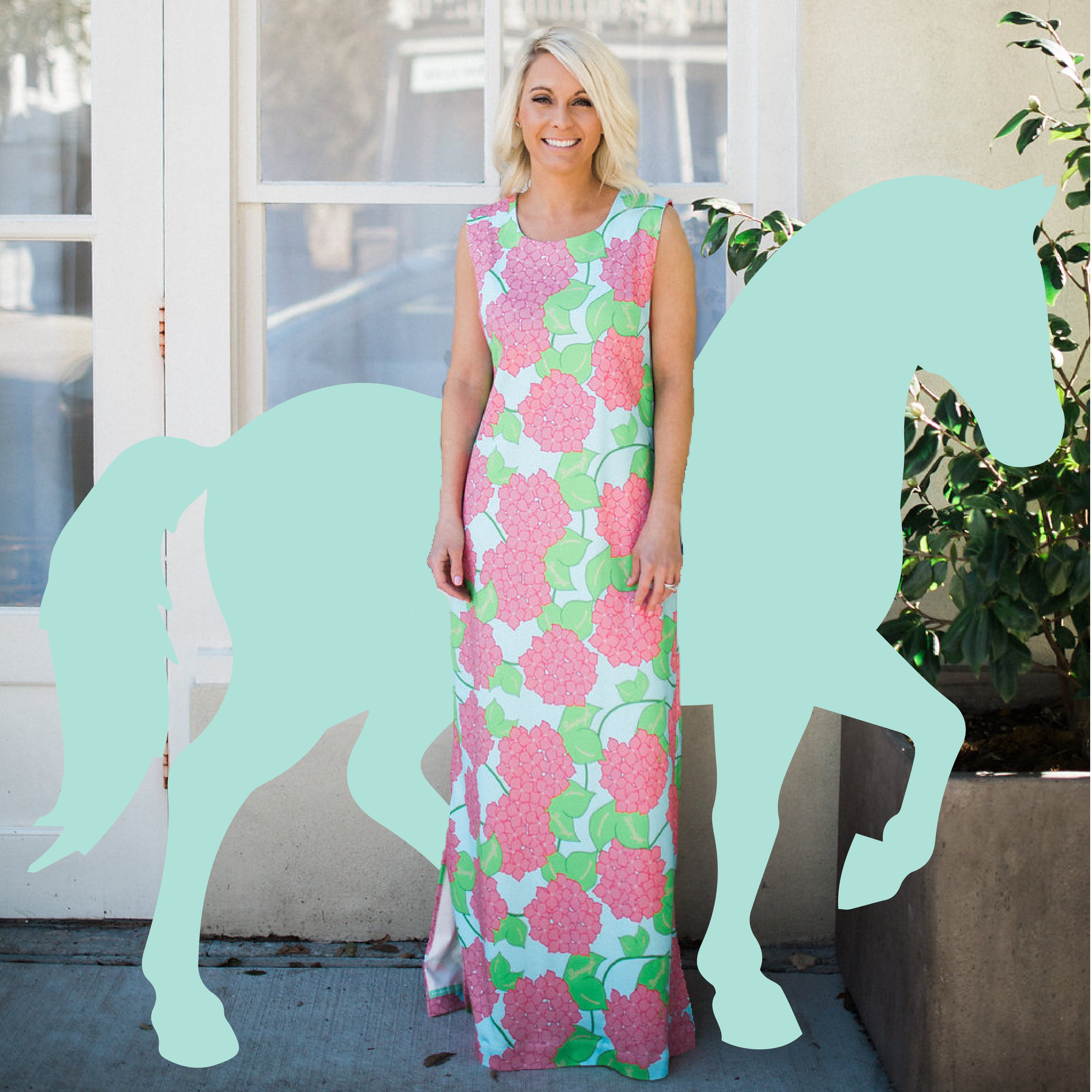 Borough dresses are perfect Carolina Cup outfits I Southern Shift Dresses I Based in Charleston SC