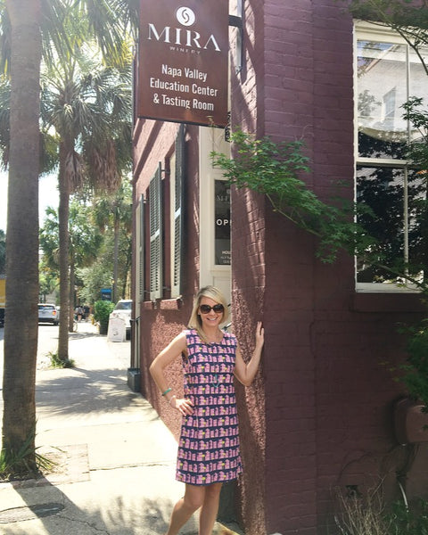 Borough Dresses and MIRA Winery I Sip and Shop I Charleston SC