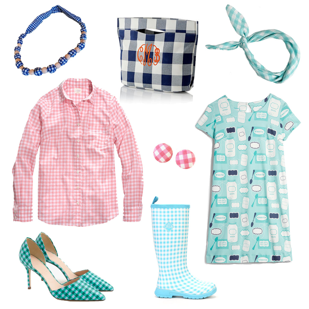 Borough // Gingham Print Check Style