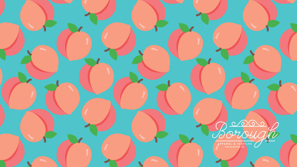 Borough Just Peachy Print
