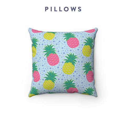 Borough Home Collection: Throw Pillows in Bright Southern Prints: Charleston, SC