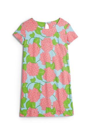 Borough Blooms- Ansonborough Short Sleeve Shift