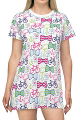 Charleston Scene Radcliffeborough T-Shirt Dress