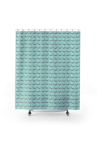 Shower Curtain- Golf Cart Xing