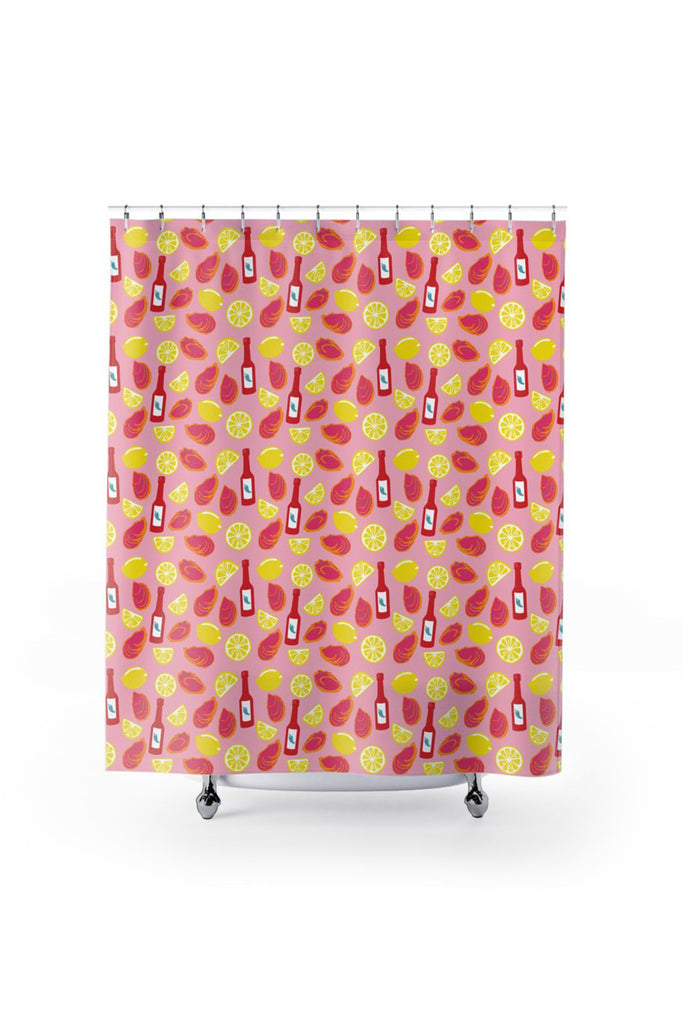 Shower Curtain- Oyster Roast