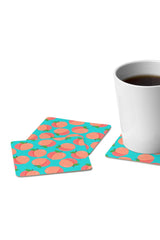Coaster Set - Just Peachy