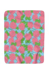 Fleece Blanket- Borough Blooms