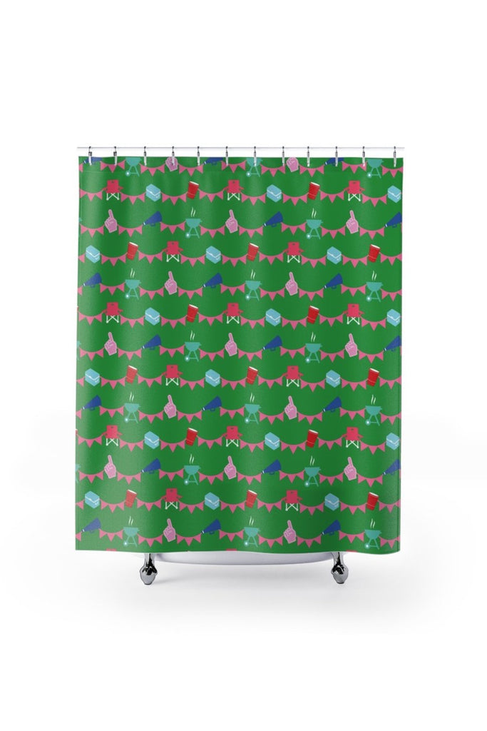 Shower Curtain- Tailgating