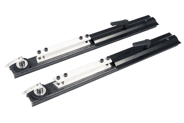 #2446 Slider Bars with Clamp Plate for Kickplate (Set of 2)