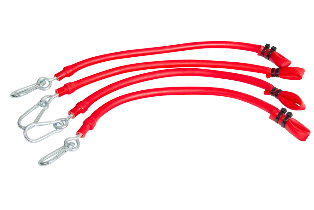 #8015  Red Elasticords for Standard and Pro - T-Knob Version (Set of 2)