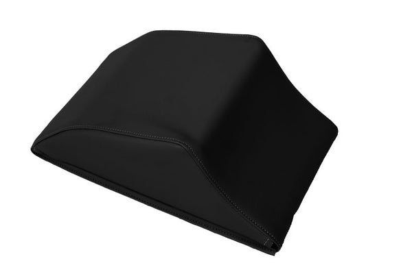 #1410  Universal Headrest - Black