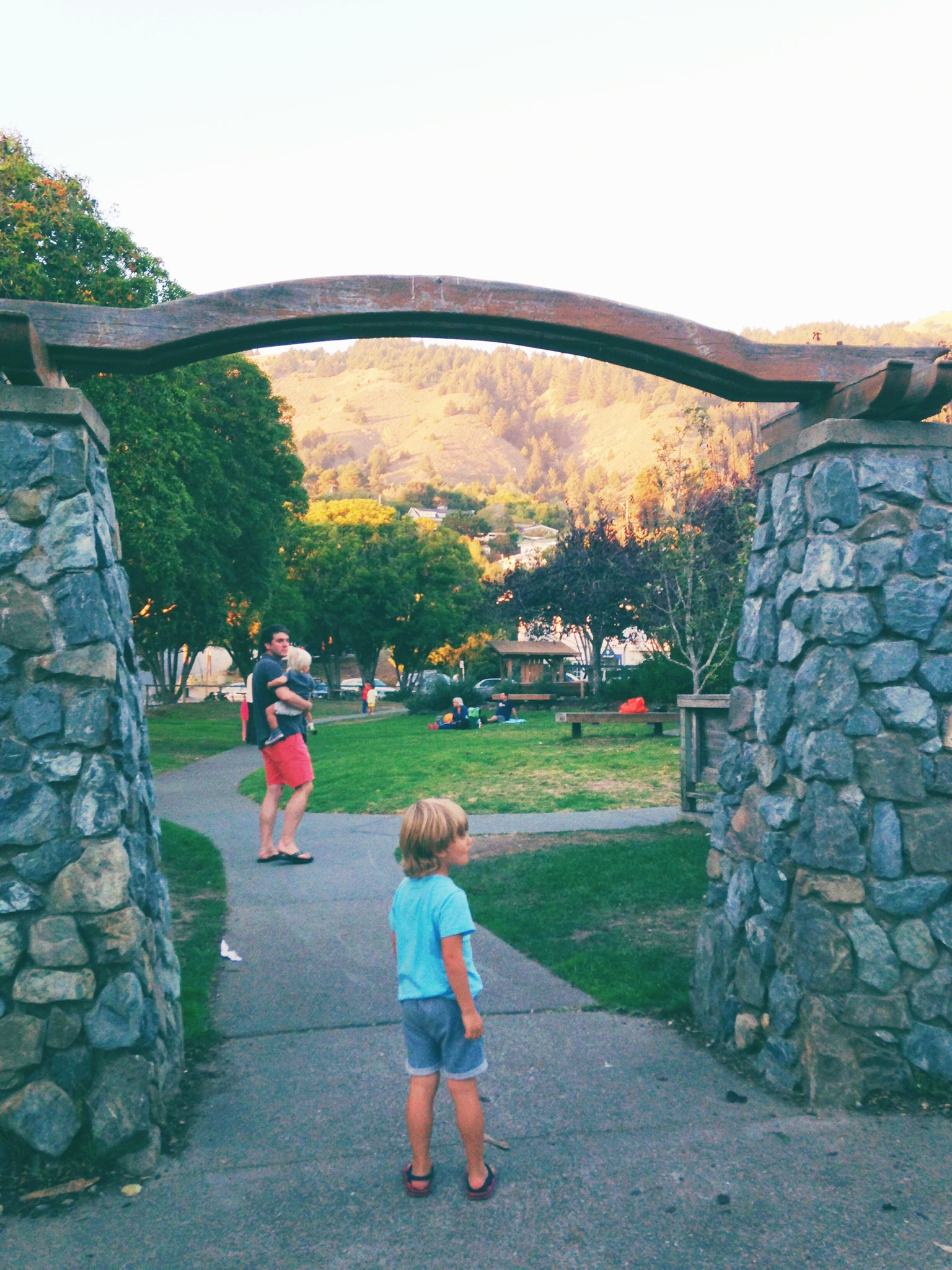 Village Green park playground Stinson Beach