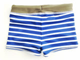 Swim Trunk in Ahoy Stripe