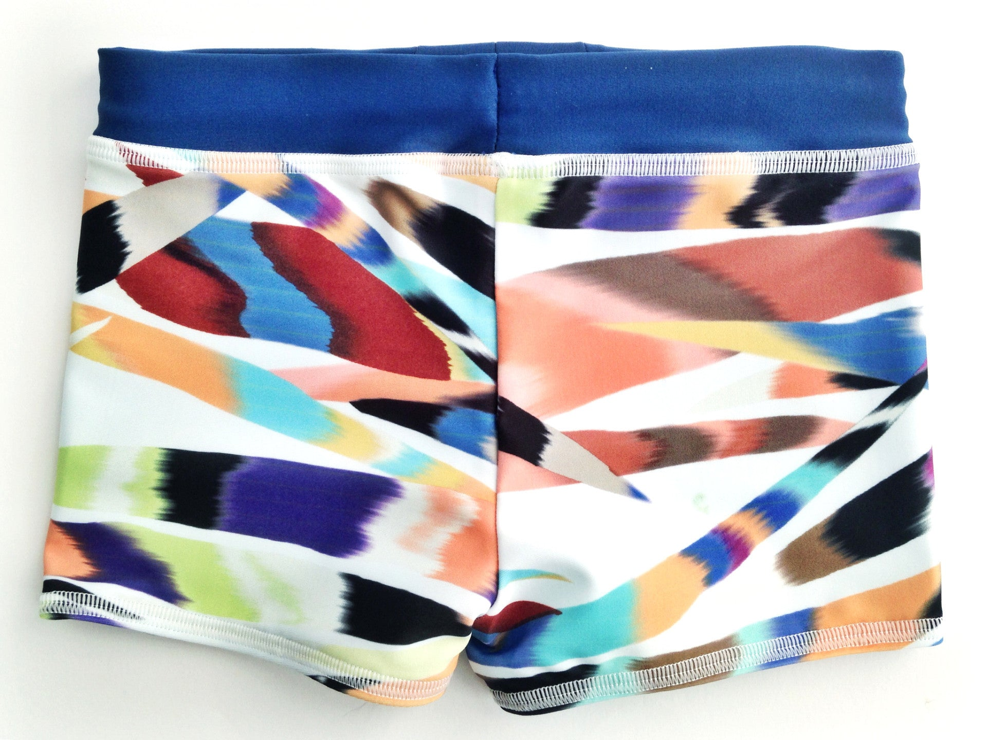 Swim Trunk in Sparrow Print