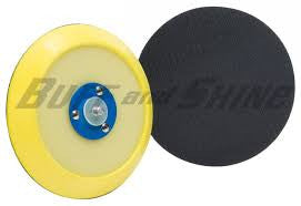 "Buff and Shine 6"" Flex Edge Center Ring DA Grip Backing Plate"